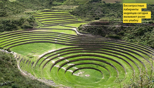 Фото №1 - Идеи для отпуска: Террасы Морай, Перу
