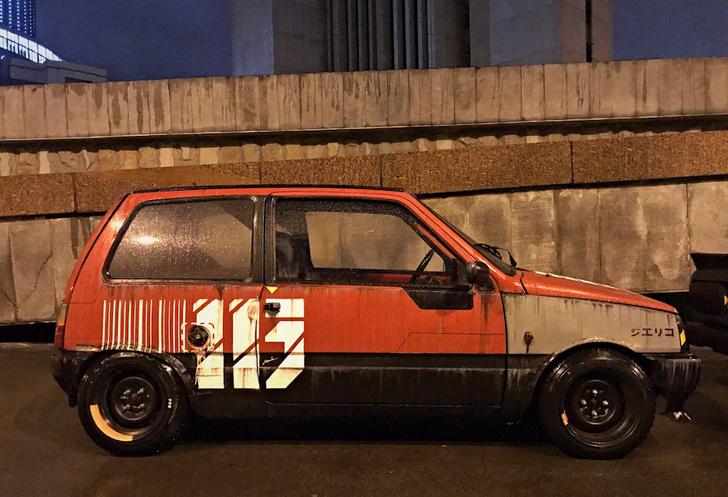 Фото №7 - Житель Екатеринбурга создает автомобили как из игры Cyberpunk 2077 и фильмов про жуткое техногенное будущее (много фото)