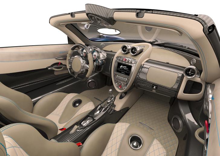 Фото №4 - В Pagani решили сделать родстер из суперкара Huayra...