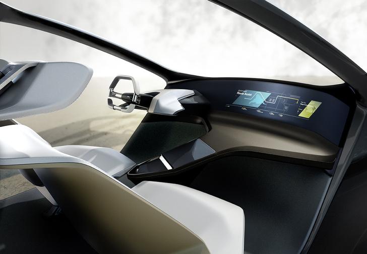 Фото №4 - BMW показала принципиально новый интерьер для беспилотных машин