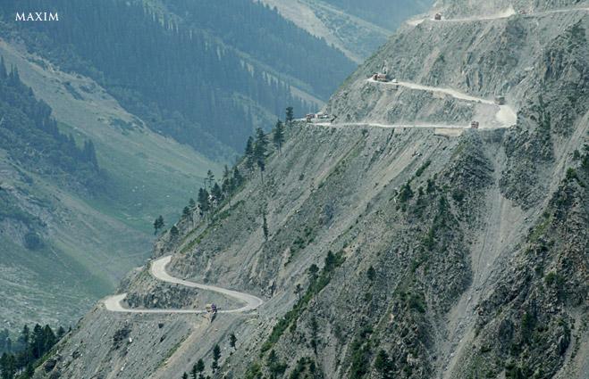 Фото №11 - Из пункта А-А-А-А-А! Семьужаснейших дорог планеты