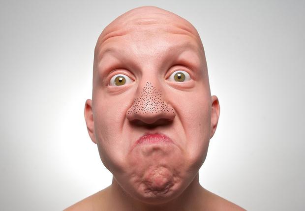 Фото №1 - Как избавиться от черных точек на носу