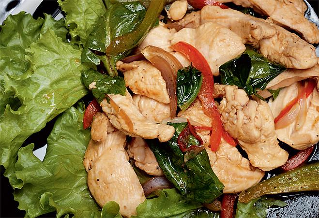 Китайский куриный салат