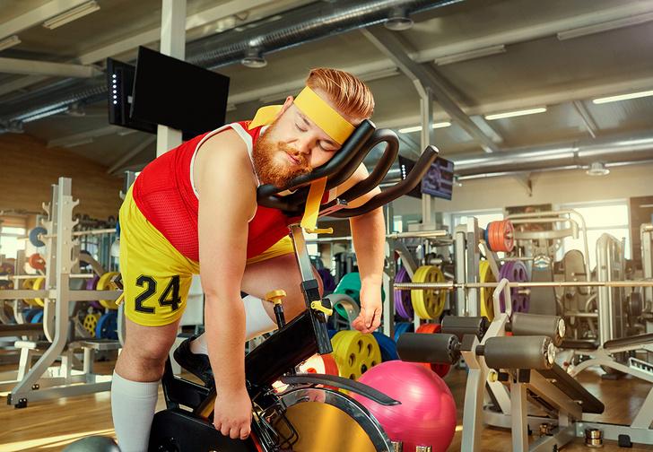 Фото №1 - Фитнес-клуб «Империя штанг» приглашает покряхтеть скомфортом