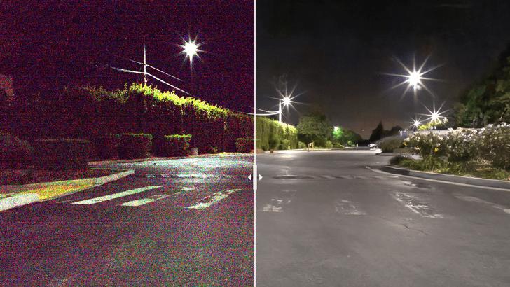 Фото №1 - Искусственный интеллект учится видеть в темноте