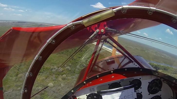 Фото №1 - У легкомоторного самолета посреди полета глохнет двигатель (ВИДЕО из глаз пилота)