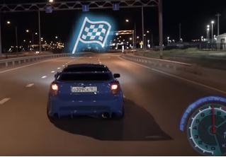 Российский стритрейсеры сняли «Need for speed» в реальной жизни, и это не пародия, а словно ожившая игра (видео)