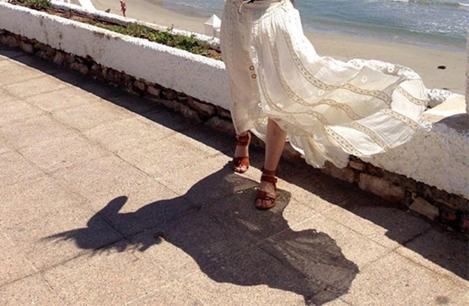 Я и моя тень... Бывает и так, да :-)
