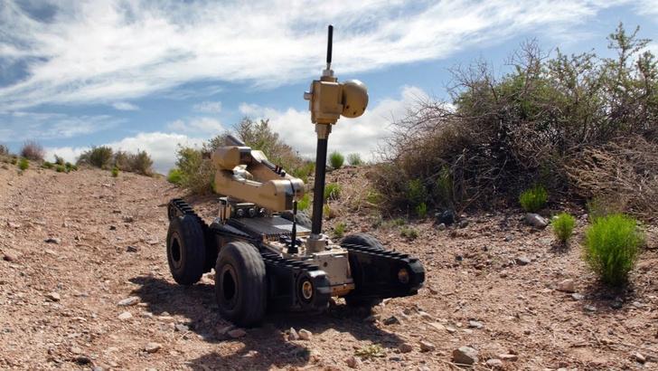 Фото №1 - Как в США проходят «родео» роботов (ВИДЕО из будущего)