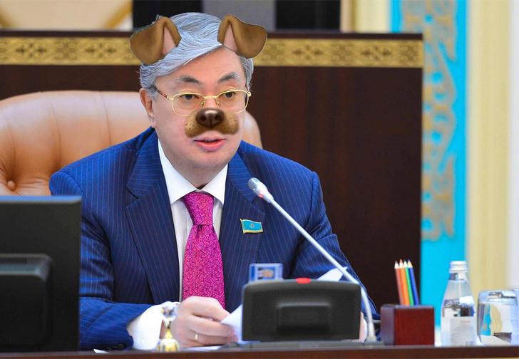 Фото №1 - СМИ обнаружили, что президента Казахстана «омолодили» на официальных фото