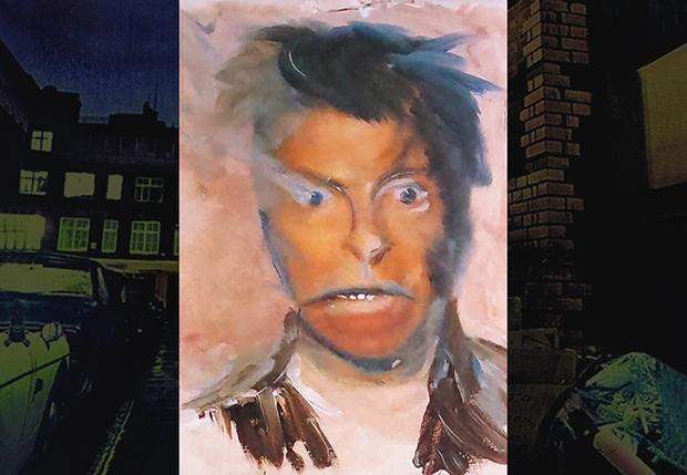 Фото №1 - Безумные автопортреты Дэвида Боуи!