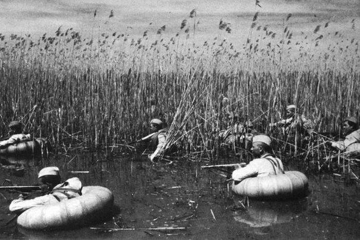 Фото №5 - Подводные торпеды для смертников и еще 4 поразительные фотографии с войны