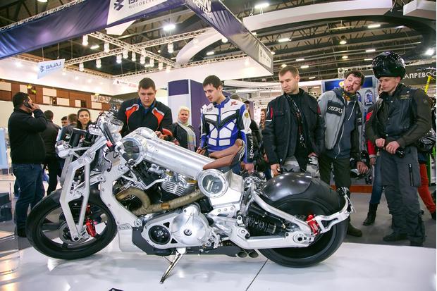 Фото №1 - Пять самых крутых мотоциклов года из России