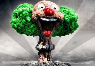 Вот что произойдет, если сбросить ядерную бомбу на твой город (село, хутор, аул и т.д.)!