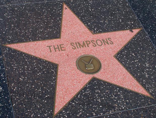 Симпсоны на Аллее славы