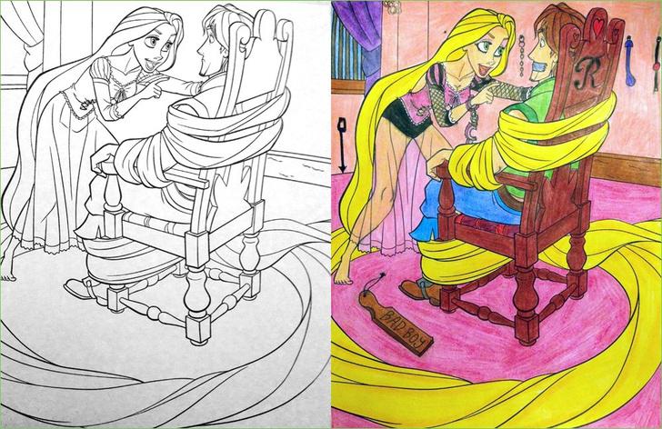 Фото №16 - Я безбожник, я так вижу: Когда детская раскраска превращается в запрещенную литературу
