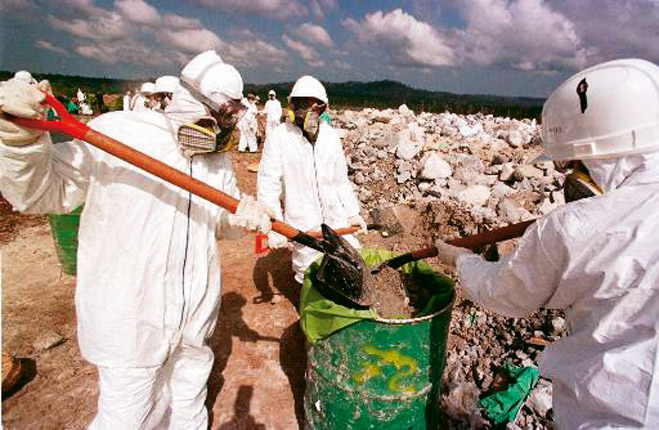 Фото №1 - Как избавиться от радиоактивных отходов