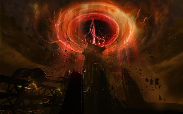 Фото №9 - Doom! Ад! Сатана! Дьявольски кровавые и эксклюзивные концепт-арты из грядущего игроужастика