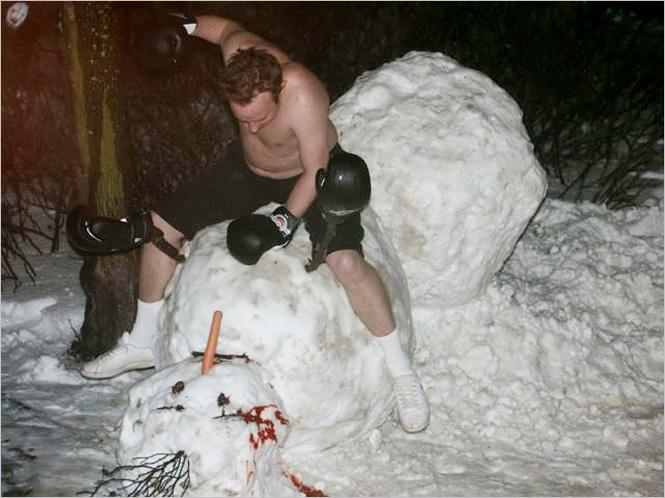 Фото №5 - 6 идей, которые помогут превратить снеговика в произведение искусства