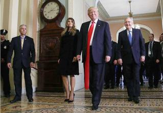 Странная тенденция моды от Дональда Трампа — невероятно длинные галстуки!