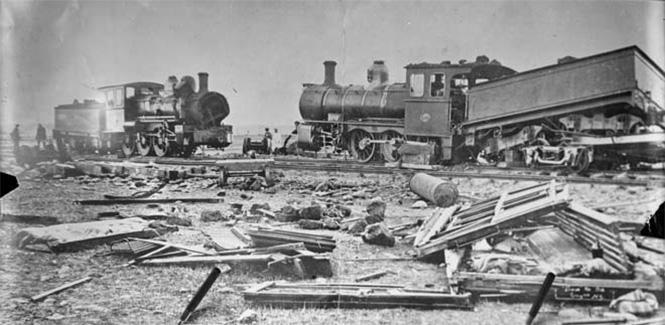 Фото №5 - Самые впечатляющие фото железнодорожных катастроф