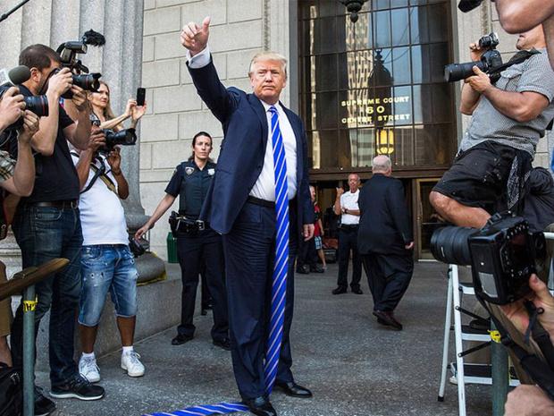 Фото №8 - Странная тенденция моды от Дональда Трампа — невероятно длинные галстуки!