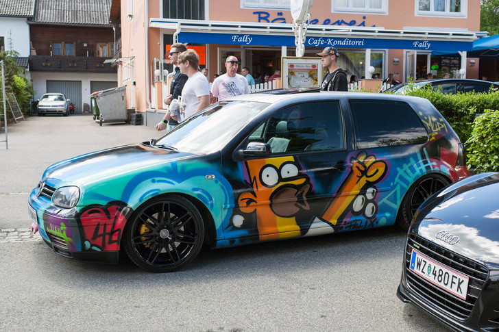 Фото №25 - Самые безумные машины фестиваля GTI Treffen