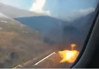 Пассажир изнутри снял на ВИДЕО крушение самолета