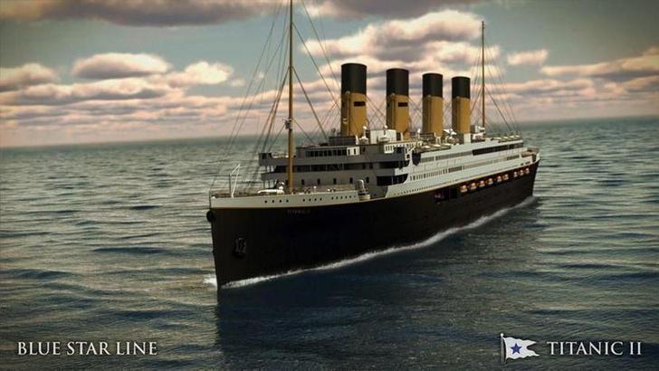 Фото №1 - Реплику «Титаника» спустят на воду в 2022 году