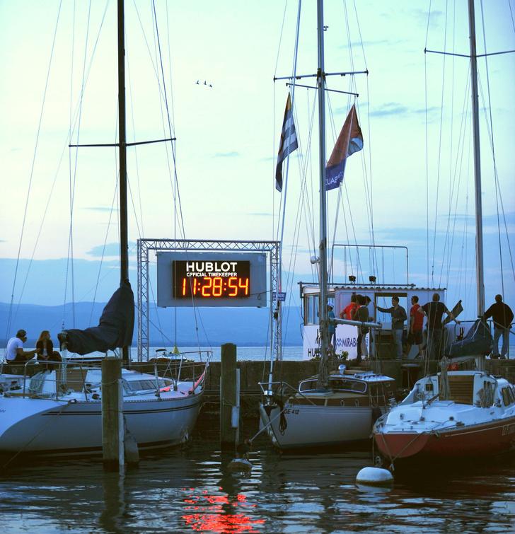 Фото №1 - Hublot поднимает паруса