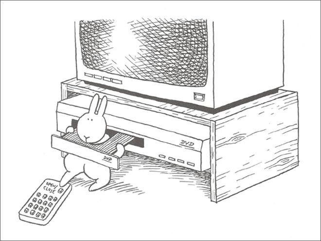 Фото №16 - Смешные и жестокие картинки про кроликов-самоубийц