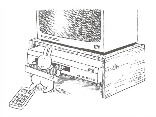 Смешные и жестокие картинки про кроликов-самоубийц
