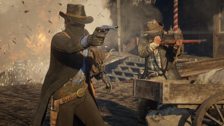 Фото №1 - Вышел первый геймплей-трейлер Red Dead Redemption 2. Кажется, у нас появилась игра года