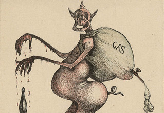Жутковатые карикатуры Первой мировой