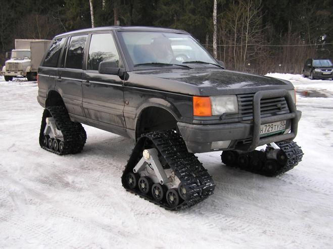 Гусеницы вместо колес