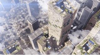 Японцы построят деревянный небоскреб