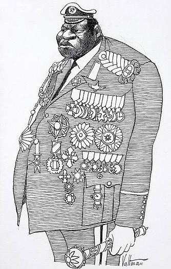 Фото №4 - Царь зверей: история самого кровожадного африканского диктатора