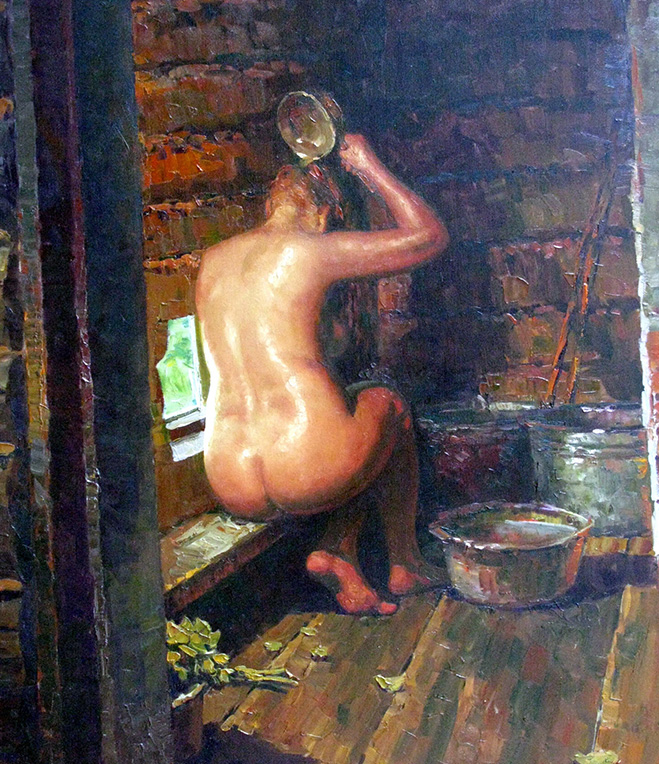 «Баня», Евгений Балакшин