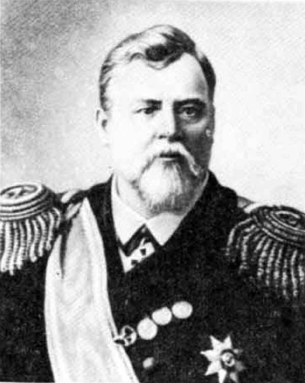 Контр-адмирал Дмитрий Густавович фон Фёлькерзам