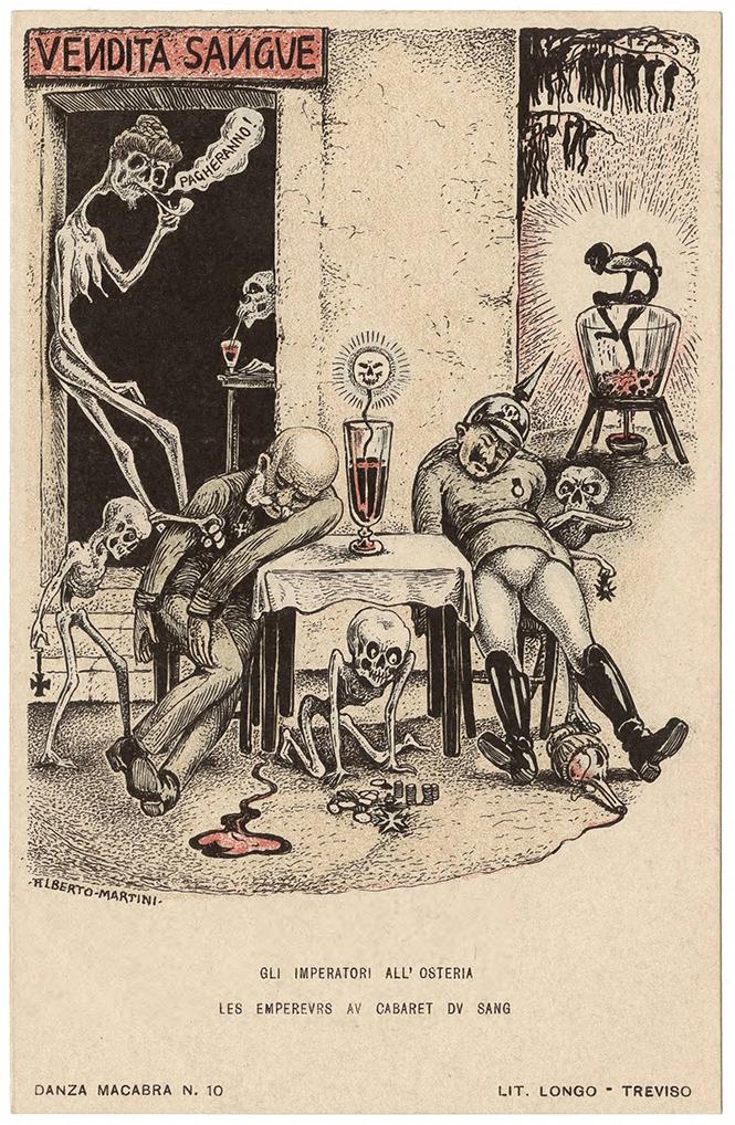 Фото №46 - Жутковатые карикатуры Первой мировой