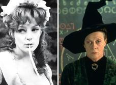 Фотографии молодой Мэгги Смит— профессора МакГонагалл из «Гарри Поттера»