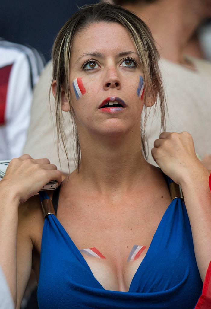 Французская фанатка