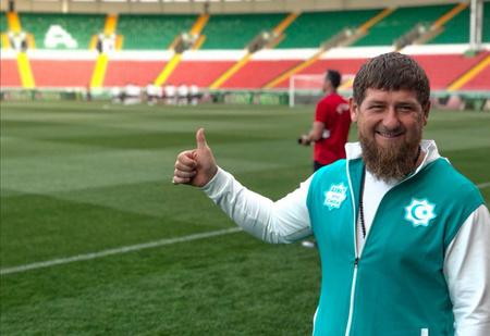 Рамзан Кадыров хорошо подготовил Египет к матчу с Россией