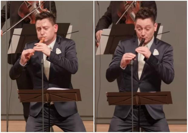 Фото №1 - Знакомься: самый выразительный флейтист в мире (видео)