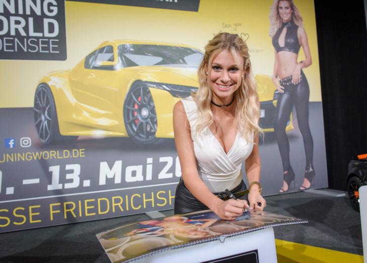 Фото №15 - Немцы выбрали «Мисс Тюнинг — 2017»
