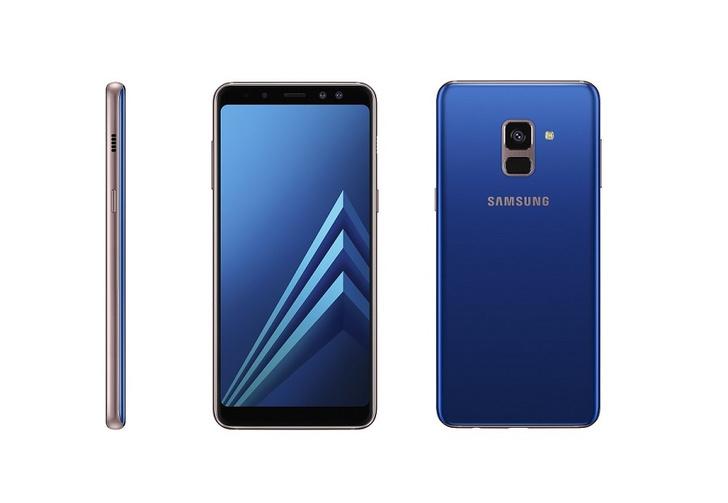 Фото №1 - Новые Samsung Galaxy A8 и A8+: двойной фронтальная камера и безграничный экран