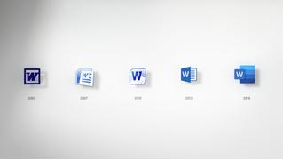 Microsoft убрала листок бумаги из пиктограммы новой версии Word
