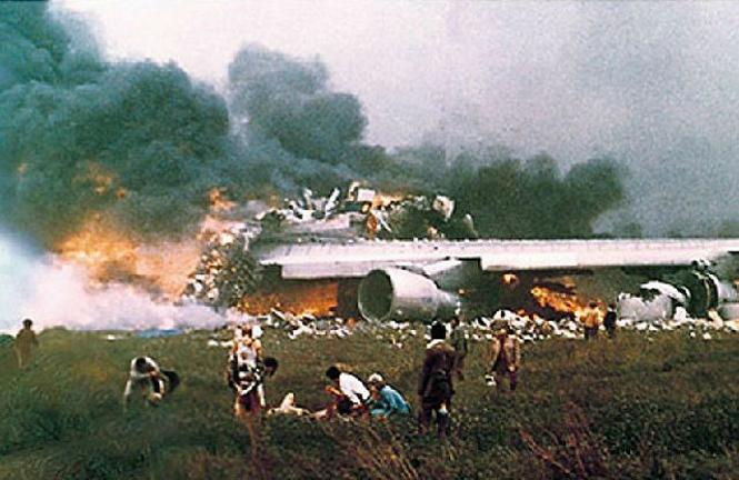 Фото №12 - 10 самых невероятных авиакатастроф в истории