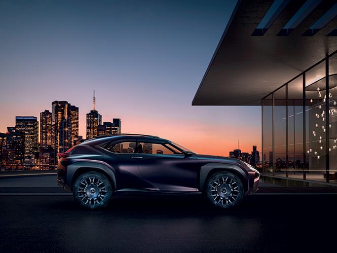 Фото №2 - Лексус «Икс»: Lexus показал концепт нового кроссовера