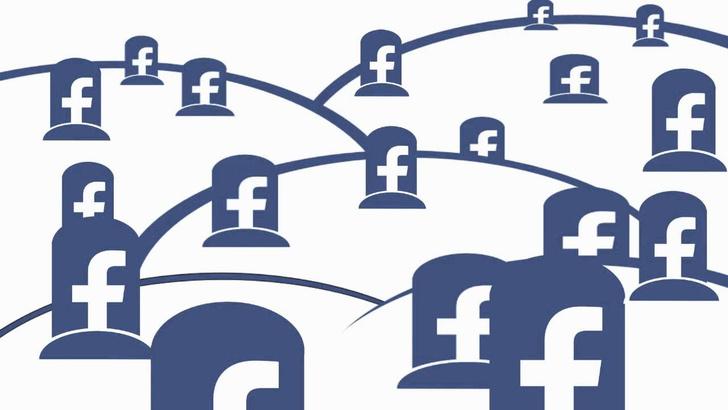 Фото №1 - В каком году количество мертвых аккаунтов в социальных сетях превысит количество живых?